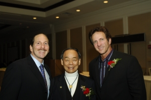 Jack Bobrow, Jhoon Rhee, Mitchell Bobrow Early USA Taekwondo Pioneers.