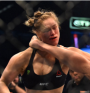 UFC Ronda Rousey lost to Holly Holm is seconds!